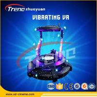Standing - up Comfortable Vibration Experience One Player VR Game Machine , Kids 9d Cinema Simulator
