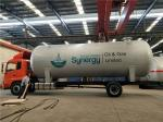 50000 Lites LPG Gas Storage Tank For Filling Plant , Liquid Propane Tank