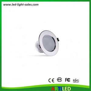 China 7W high power LED downlights external driver for home and commercial usage on sale