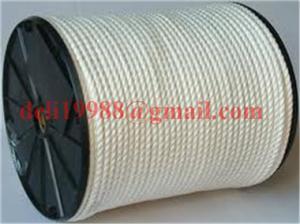 China double braid nylon rope/cable pulling rope/nylon rope on sale