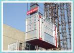 Building Elevator Man And Material Hoist System For Bridge / Tower Crane