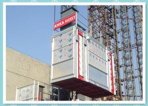 Galvanized Tower Building Hoist Construction Elevator rental