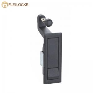 China OEM Fire Cabinet Lock , Push Button Key Lock With Plastic Spraying Surface Treatment on sale