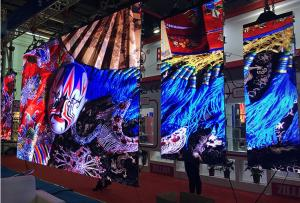 China P6 RGB LED Display / Indoor Full Color Led Screen Density 27777 220V 60HZ Power on sale