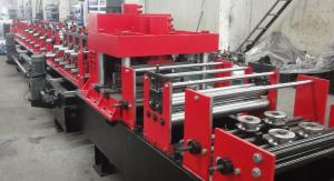 China High Efficiency Automated Changeable C Z Purlin Roll Forming Machine for Standard Purlin 100-300 mm  Width on sale