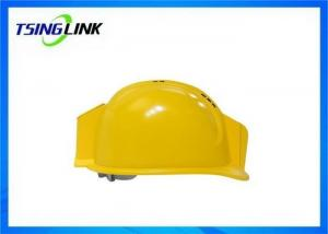 China Intelligent Safety Helmet 4g Wireless Device With Realtime Hd Cctv Video Transmission on sale