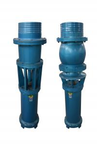 China Vertical / Horizontal Axial Flow Water Pump 25kw Large Capacity Cast Iron Material on sale