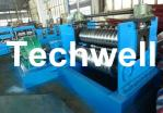 2.0 - 4.0mm Thickness Corrugated Steel Sheet Roll Forming Machine For Silo Wall Panel