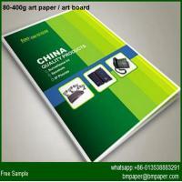 80gsm 67*87cm Coated art paper Art Paper Brochure Printing