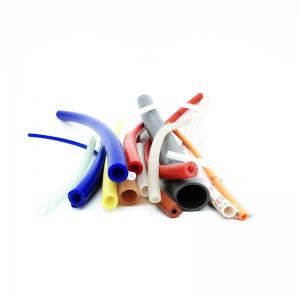 China Round extruded silicone hose on sale
