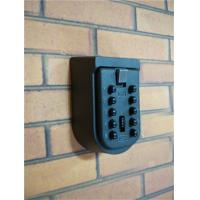 Multiple Keys Push Button Key Lock Box Rust Free , Key Lockbox Combination Access