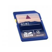 Full Capacity Shockproof Flash High Speed SD Memory Cards 4GB