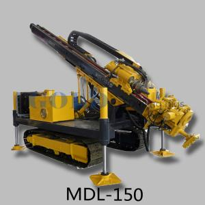 China Crawler MDL-150 All Terrain DTH Hammer Air Drilling Rig on sale