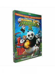 China Hot selling Kung Fu Panda 3 Cartoon Disney DVD Movies,new dvd,bluray on sale