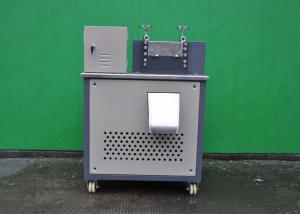 China Industrial Plastic Granules Making Machine 190kg Unit Weight Custom Voltage Color on sale