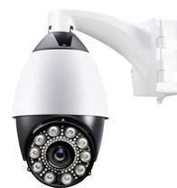 China DDNS Outdoor PTZ Wireless IP IR Dome Camera Vandalproof For Banks on sale