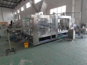 China Easy Operate 0.5L Milk Bottle Filling Equipment Combined High Viscosity on sale