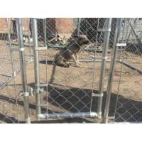 temporary chain link dog fence available many size 4ft x 7.5ft x 7.5ft good quality