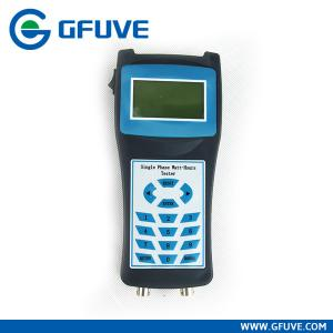 China Handheld Single-Phase Watt-Hour Meter Site Verification on sale