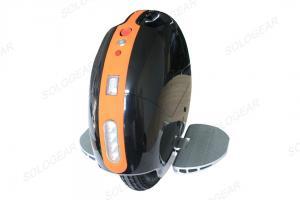 China Black 14 Inch Single Wheel Electric Bike Bluetooth LED For Walking on sale