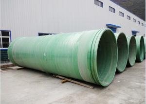 China Underground FRP Pipes/Round Tubes fiberglass/Reinforced ISO9001 on sale