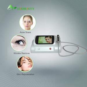 China Fractional Radiofrequency Micro Needling Machine For Skin Rejuvenation 25/49/81 Pins 5MHZ on sale