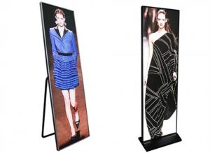 China Popular P2.5 Ultra Thin LED Advertising Box Indoor LED Poster Display For Shopping Room on sale