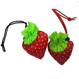 China Reusable polyester strawberry bag for shopping wholesale