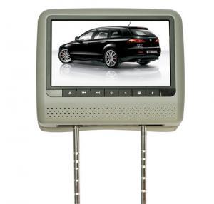 China Grey 9 Inch HD LED OSD MENU 8 Bit / 32 bit SD, USB, IR, FM, Games Car Headrest DVD Players on sale
