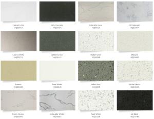 White Quartz Solid Stone Countertops For Kitchen 25 G Cm3 Bulk