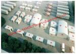 Lightweight Steel Frame Flat Pack Prefab Containers For International Rescue Camp Or Clinic Office