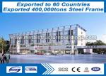 China Pre Fab Steel Frame Buildings Good Vibration Performance ISO9000 ISO14000 Approved wholesale