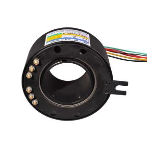 China Modular Rotary Joint Slip Ring Collector For Emergency Lighting , 135mm Outside Diameter on sale