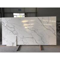 Custom Cut Hard Surface Kitchen Countertops With Vein , Stone Kitchen Worktops