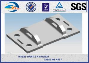 High Tensile Strength Plain Railroad Tie Plates as Track Fasteners