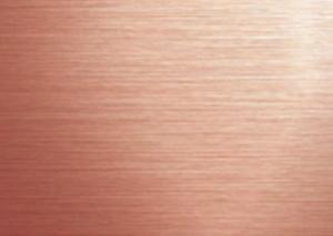 China Decorative Rose Gold Stainless Steel Sheet , Durable Coloured Stainless Steel Sheet on sale