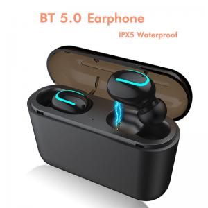 China Wireless In Ear Earphones Cordless Bluetooth Earphones with Mobile Power Bank on sale