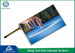 China Single Touch Monitor LCD Touch Screen 4 Wire Resistive 5 Inches with ITO layer on sale