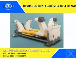 China Hydraulic Shaftless Mill Roll Stand , Corrugated Production Line on sale