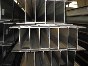China Hot Rolled Steel Beam, HW, HM, HN Standard Beams Custom on sale