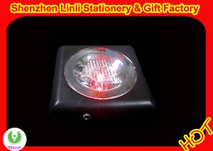 China colorful Flashing Personalized   Led Coaster&cup pad bar decor gifts   on sale