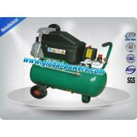 600W Mobile Piston Air Compressor Low Vibration With 2 Years Warranty