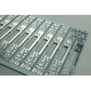 China 0.2mm Aluminium Base Thickness FR4 HASL 2 Layer Custom PCB Boards with White Solder on sale