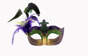 China Colombina Plastic Half Face Masquerade Masks , Mens Party Masks on sale