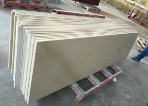 China Parchment Quartz Kitchen Countertops Quartz Stone Tiles High Density 2.55 on sale