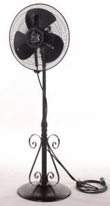 China 3 Speed 16 Inch Floor Standing Fan , Horizontal Oscillation Antique Floor Fans on sale