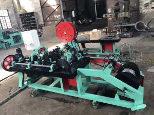 China Professional Single Strand Barbed Wire Machine For Electro Galvanized Wire on sale