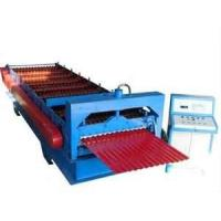 PLC control system corrugate sheet rolling  forming machine for floor deck, wall panel