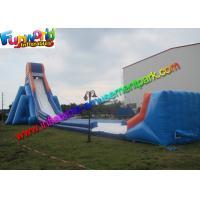 Commercial Gaint Inflatable Slip N Slide Plato 0.55 mm PVC Tarpaulin