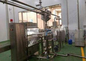 China Pasteurized Dairy Production Line , Dairy Products Making Machine Energy Saving on sale